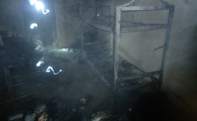Fire in Unilag e1457096911297 - Borno monarch's brother dies in UNILAG's guest house fire