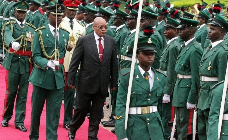 Zuma In The Presidential Villa e1457978675496 - S. Africa, Nigeria: African giants battle for economic supremacy