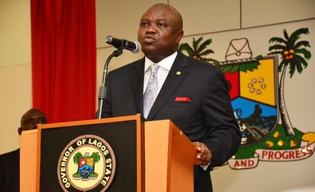 Governor Ambode e1463113013897 - Ambode praises state workers on sustainable productivity