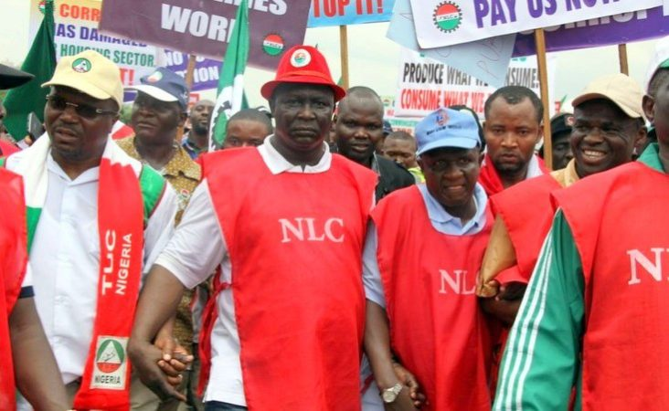 NLC e1463602766465 - NLC protest disrupts aviation activities at Lagos Airport