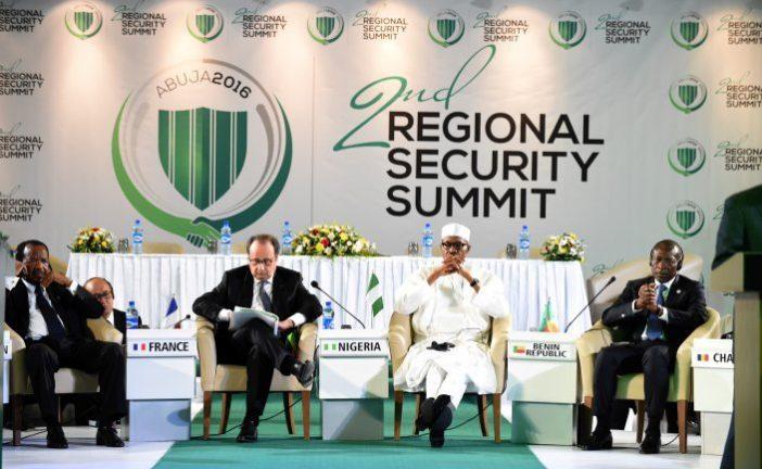 hollande buhari nigeria security summit e1463414177248 - U.S commends Buhari for hosting security summit