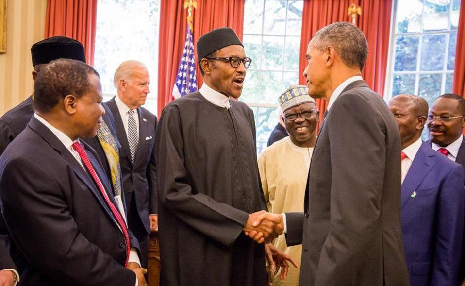 President Muhammudu Buhari Meets President Obama in the white house6 e1470930167145 - Buhari under fire over Obama speech plagiarism
