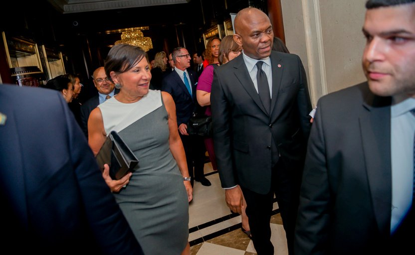 1 Pix 2A.PNG - Elumelu and Secretary Pritzker's toast to Africa