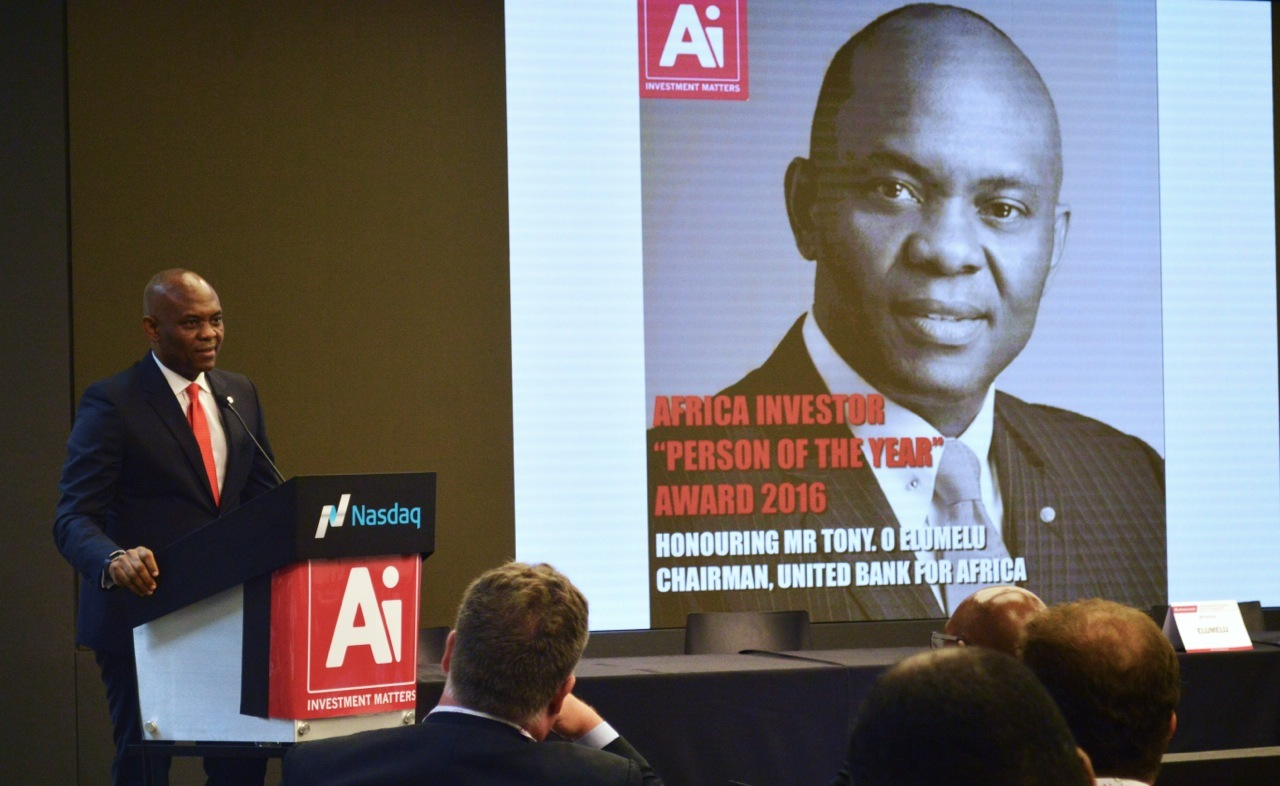 AI2 - Elumelu wins Africa Investor Person of the Year award in New York