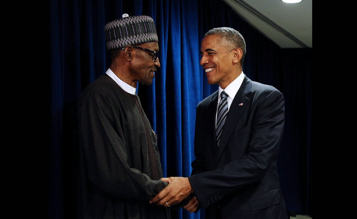 Buhari and Obama UNGA - U.S Obama endorses Buhari's economic reforms