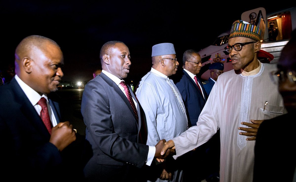 Buhari in NY 2 - UNGA: Buhari in New York to sign Paris agreement on Climate change