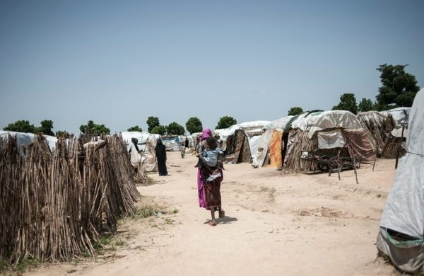 A makeshift camp which houses internaly displaced people IDPs 600x390 - 17 children born in Anambra IDP camps