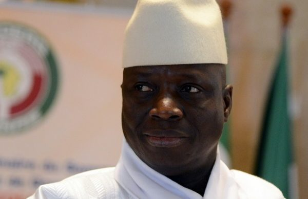 Yahya Jammeh of Gambia 600x389 - E.Guinea president says Gambia's Jammeh 'will not be extradited'