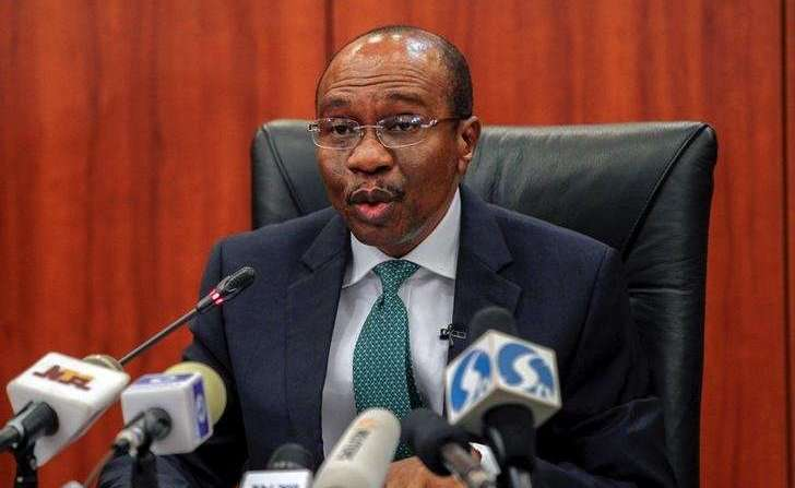 Emefiele - Emefiele sees 7 pct increase in external reserve 2018, to hit $40 billion