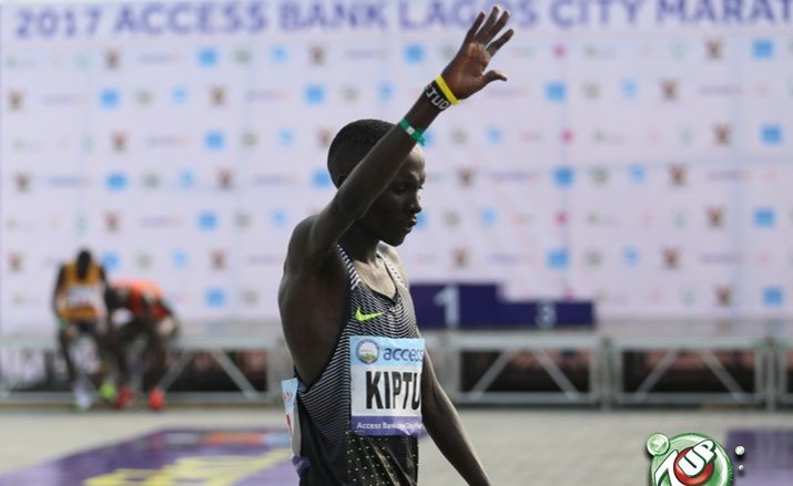 Abraham Kiptum emerges winner of the Lagos City Marathon AGAIN!!!!