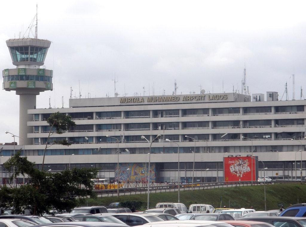 Murtala Muhammed airport Lagos Nigeria