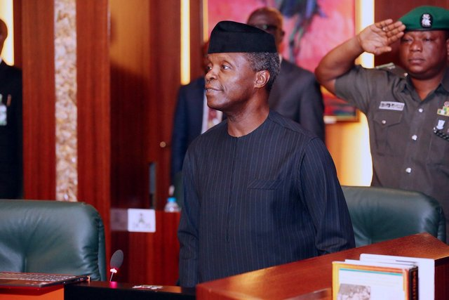 Osinbajo FEC Meeting