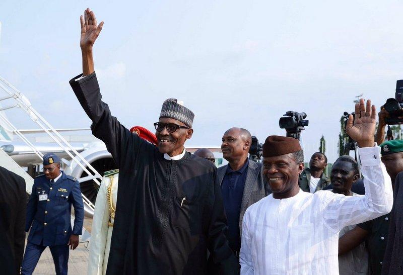 President Buhari and VP Osinbajo