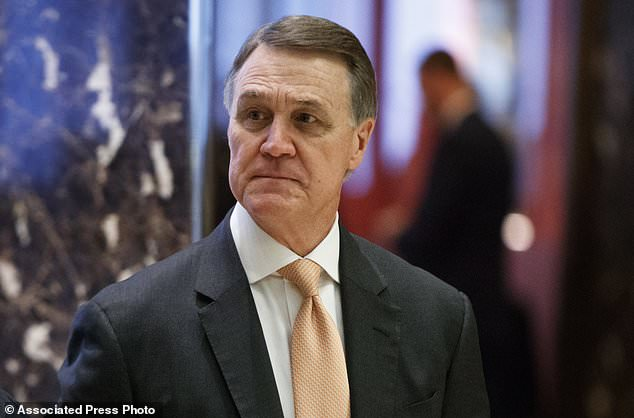 David Perdue - Trump says program to protect 'Dreamers' is 'probably dead'