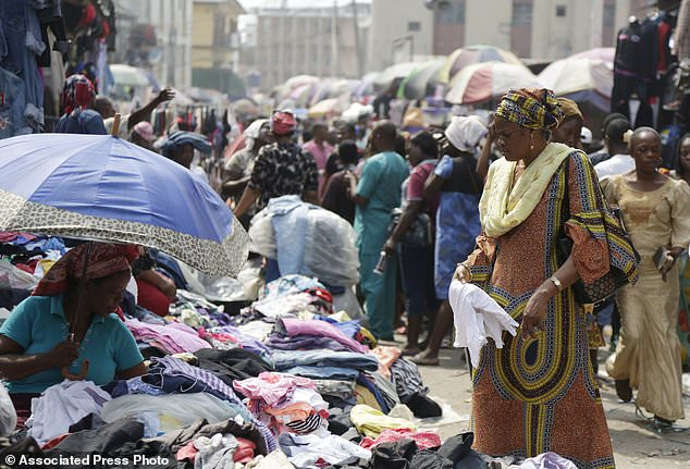 Lagos market - Nigeria's inflation rate drops to 15.13 pct in January