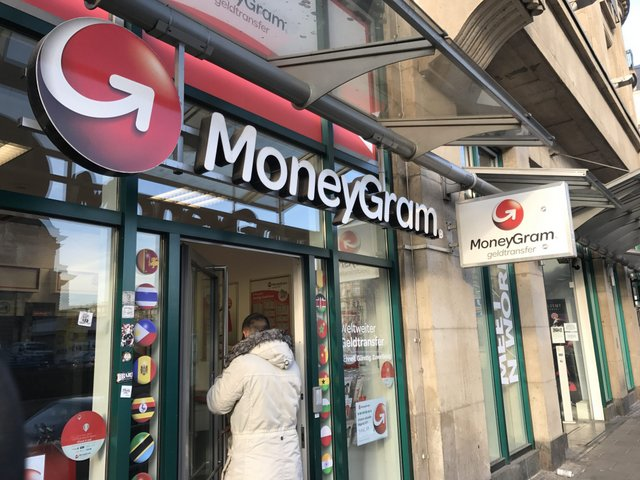MoneyGram - MoneyGram Inc. partners with bitcoin-rival Ripple, causing shares to jump 10.5 pct