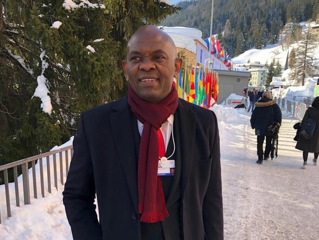 Tony Elumelu at World Economic Forum in Davos