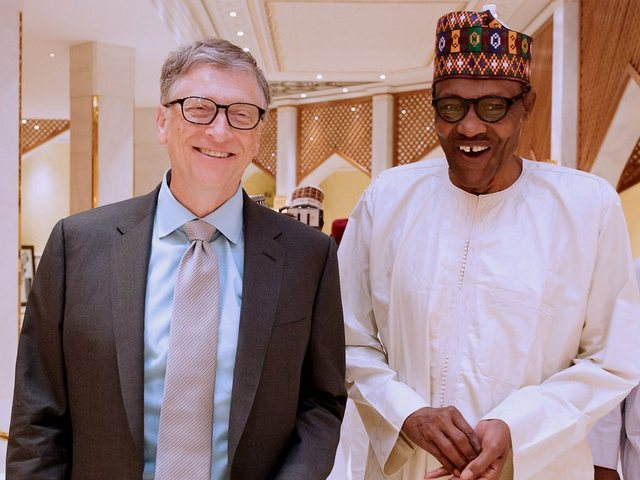 Bill Gates and Buhari - Bill Gates condemn ERGP, says it doesn't reflect people's needs