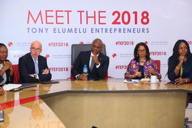 TEF 2018 Selection Announcement 2 - Tony Elumelu Foundation shortlists 1,000 entrepreneurs for 2018