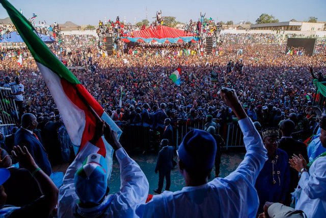 Buhari Election Campaign In Plateau