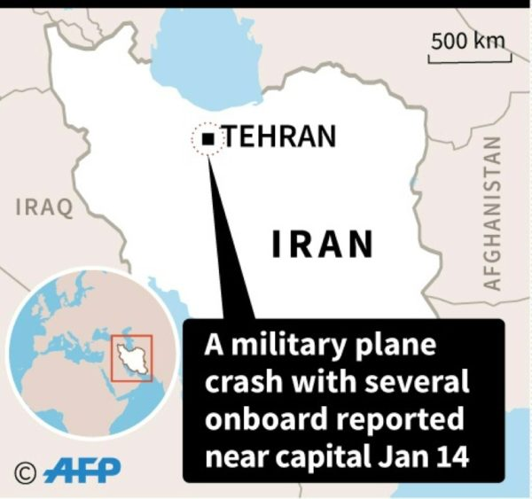Cargo Plane Crashes In Iran With Several Onboard: Army