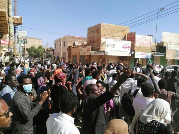 Sudan Organisers Urge Nationwide Protests Next Week