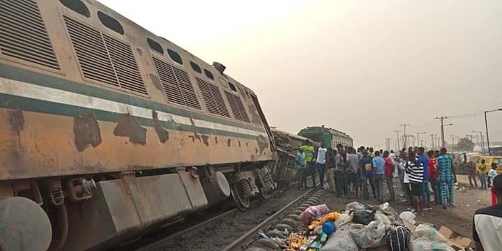 Train Derails In Lagos
