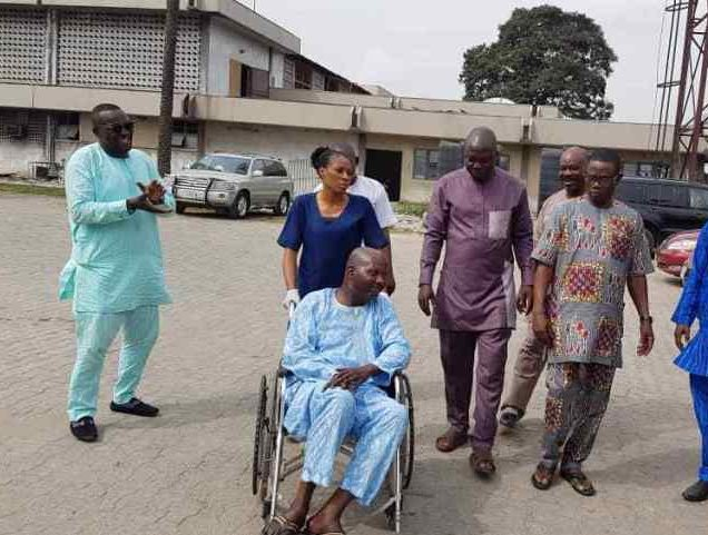 Baba Suwe Admitted At Luth Tampan President