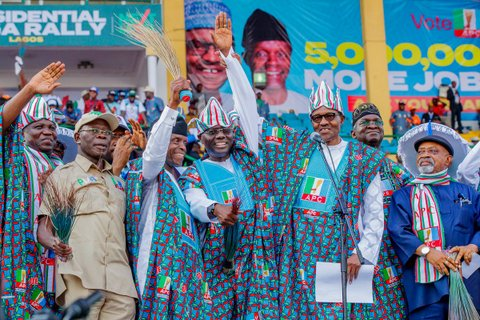Buhari, 2019 Campaign In Lagos