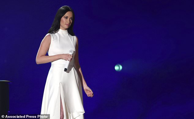 Kacey Musgraves Performs Rainbow At The 61st Annual Grammy Awards On Sunday, Feb. 10, 2019, In Los Angeles