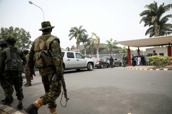 Outcry In Nigeria Over Election 'militarisation' Ahead Of Next Ballot