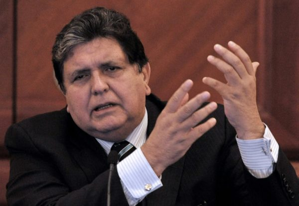 Facing Arrest, Peru Ex President Garcia Shoots Himself