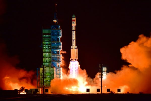 China's experimental space lab re-enters earth's atmosphere